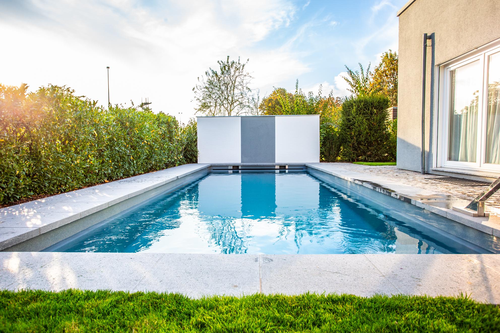 Braucht ein Schwimmbecken eine Baugenehmigung?