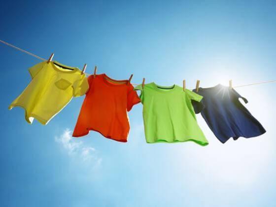 Wäsche trocknen bei minus-Temperaturen? - Geht!